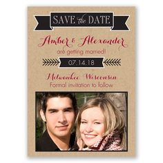 Sweet Memories Photo - Save the Date Magnet