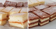 mimoza-szelet-es-fahejas-vanilias-szelet Izu, Tiramisu, Keto, Ethnic Recipes, Foods, Food Food, Tiramisu Cake