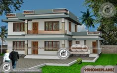 North Indian House Design   60+ Double Story House Design Collections