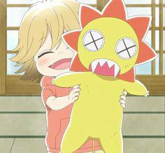 e09: Poco comforts Nagatsuma Hiroshi with his Gaogao chan toy