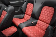 Ford Mustang leather interior