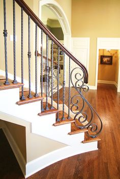 Beautiful Wrought Iron Spindles