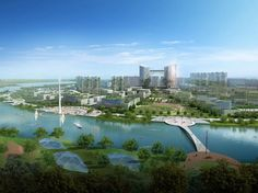 Tianjin Eco City is a Futuristic Green Landscape for 350,000 R...