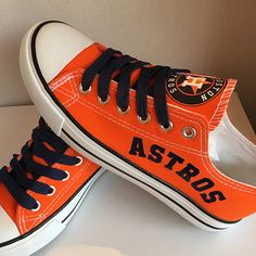 95204fc5863 See more. Houston Astros Canvas Sneakers - http   cutesportsfan.com houston- astros. Converse ...