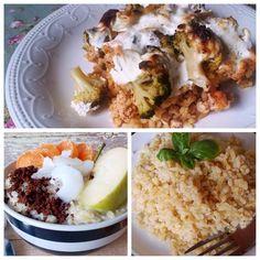 Bulguros receptek, fogyókúrás ebéd ötletek, diétás köretek, desszert receptek bulgurral. Bulgur receptek édesen és sósan >>>