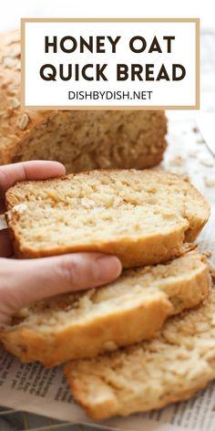 Super Easy Bread Recipe, Easy Bread Recipes, Quick Bread, Baking Recipes, Dessert Recipes, Oats Recipes, Gluten Free Bagels, Gluten Free Baking, Gluten Free Desserts