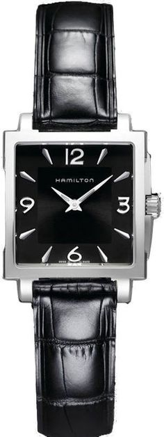 @hamiltonwfan Watch Jazzmaster Square Lady #bezel-fixed #bracelet-strap-leather #brand-hamilton #case-depth-8-3mm #case-material-steel #case-width-29-x-29mm #delivery-timescale-call-us #dial-colour-black #gender-mens #limited-code #luxury #movement-quartz-battery #official-stockist-for-hamilton-watches #packaging-hamilton-watch-packaging #style-dress #subcat-jazzmaster #supplier-model-no-h32251735 #warranty-hamilton-official-2-year-guarantee #water-resistant-100m