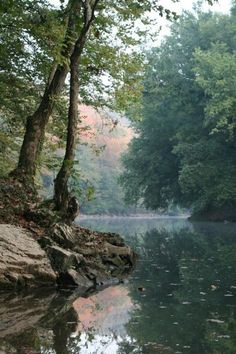 Green River at Turnhole Bend - Mammoth Cave National Park - Kentucky