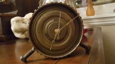 Working handmade transmission clock