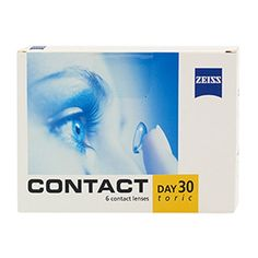 ZEISS Contact Day 30 Αστιγματικοί Μηνιαίοι Φακοί Επαφής http://www.alfalens.gr/product/232/zeiss-contact-astigmatikoi-mhniaioi-fakoi-epafhs.html