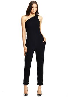On ideel: BCBGeneration One Shoulder Jumpsuit
