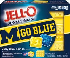 JELL-O University of Michigan Mold Kit, 12 Ounce: Amazon.com: Grocery & Gourmet Food