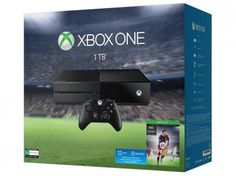 Console Xbox One 1TB com Controle Microsoft - Fifa 16 via Download e 1 Ano de EA…