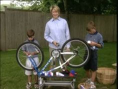How to Decorate Bikes for a Fourth of July Parade   Marta Stewart