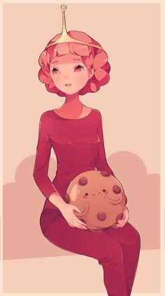 Adventure Time, princess bubblegum fanart