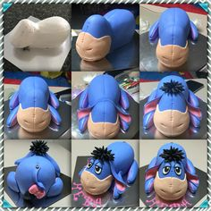 How to make an Eeyore cake