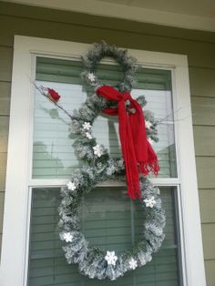 My Snowman Wreath !!