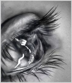 Amazing pencil drawings of eyes...