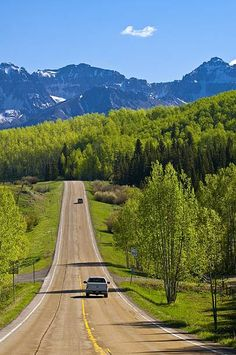 Views along Colorado Highway 145, San Juan Mountains near Telluride, Colorado USA ©Blaine Harrington