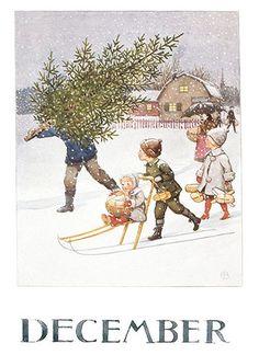 Эльза Бесков Плакат, декабрь