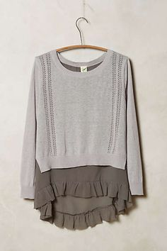 Skirted Pullover