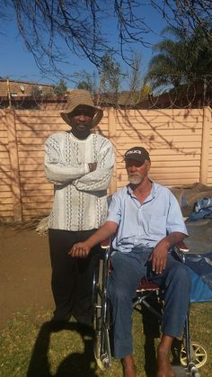Under His Covering : phillip.  One of the under privileged.  In a wheelchair.  Reaching out to this man in Kempton Park.  The man has been in a wheelchair for the past 19yrs. Beside him..  A man/friend, Has carried him on his shoulders for the past 15 years during days of rain.  To get him to shelter as he lives in the street.