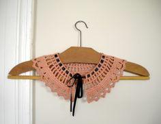 charming crochet collar