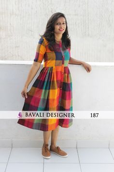 Shop Online Latest Designer Kurtis from Bavali Designer Salwar Designs, Simple Kurti Designs, Kurta Designs Women, Kurti Neck Designs, Dress Neck Designs, Indian Kurtis Designs, Latest Blouse Designs, Kurti Patterns, Dress Patterns
