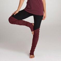Legwarmer yoga pants. #YogaPants