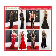 The Grammy's 2017 was so much fun to watch! For all of you fabulous fashionistas out there who LOVED Chrissy Teigen, Katharine McPhee, Charli XCX and Bella Harris's dresses...WE HAVE AMAZING DRESSES that look a lot like the ones worn by these chic celeb's! Shop them all today at CLV.com!  #CLVprom17 #camillelavie