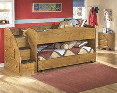 Stages 3pc Kids Twin Over Twin Loft Bed Set – Outfit My Home
