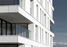 Residential building in Temse (B) by Bontinck arch. EQUITONE facade panels. Request facade sample @ equitone.com