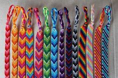 Chevron Friendship Bracelet/Candy Stripe Bracelet/String Bracelet/Woven Bracelet - Anklet - Ideas of Anklet - Chevron Friendship Bracelet/Candy Stripe Bracelet/String Bracelet/Woven Bracelet Thread Bracelets, Embroidery Bracelets, Woven Bracelets, Cute Bracelets, Ankle Bracelets, String Bracelets, Anklet Designs, Bracelet Designs, Diy Friendship Bracelets Patterns