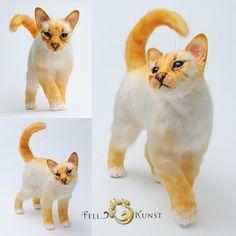Poseable art doll, cat by FellKunst on DeviantArt