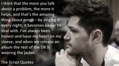 Your favorite quotes, sayings, or lyrics by The Script Danny The Script, Danny O'donoghue, Why I Love Him, Love Of My Life, My Love, Music Heals, Jon Bon Jovi, Cool Bands, Music Artists