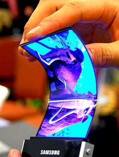 Samsung Galaxy S4 And Flexible Amoled Screen
