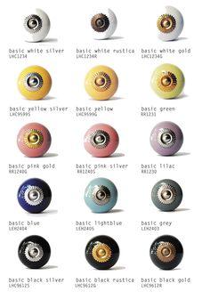 #Möbelknöpfe aus #keramik #knaeufe von #knaeufe.de #möbelgriffmanufaktur aktueller #Katalog2015 #keramikknöpfe #möbelknöpfe #Möbelknopf #Basic