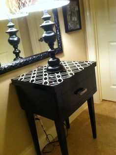 $10 Sewing table upcycled