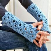 Fingerless Mittens Gloves - Arm Warmers - via @Craftsy