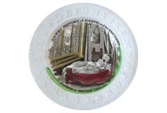 Antique Staffordshire ABC Baby Plate