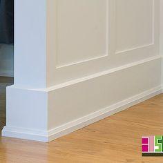 Sublime Shoe Molding decorating ideas for Spaces Transitional design ideas with Sublime btsh shoe mould Craftsman Trim, Craftsman Interior, Interior Trim, Interior Design, Baseboard Styles, Baseboard Trim, Home Depot Baseboard, Baseboard Ideas, Floor Molding