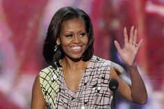 Michelle Obama, the wife of President Obama, like Ann Romney did for her husband Mitt Romney at the Republican Convention, will personalize her husband's story.