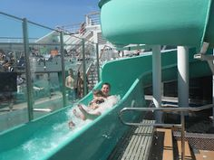 Waterslide! Carnival Glory to Western Caribbean