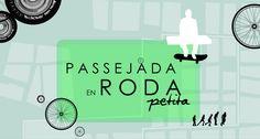 Rueda pequeña. Setrata de un paseo solidario con ruedas, ya sea patinetes, bicicleta, monopatines … a beneficio de la Asociación Catalana Síndrome X Frágil. Domingo 22 de febrero de 2015