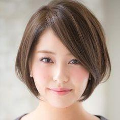Fabulous Short Bob Hairstyles for Korean Professional Women Asian Short Hair, Asian Hair, Short Hair Cuts, Asian Bob, Shot Hair Styles, Hair Arrange, Corte Y Color, Short Bob Haircuts, Oval Face Haircuts
