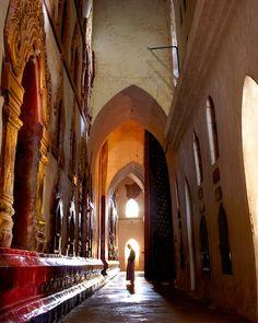 Photos of Burma's Beautiful Beaches and Ancient Temples | Ananda Temple, Bagan