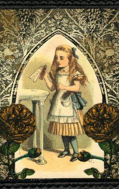 #Alice in #Wonderland:  #Alice.