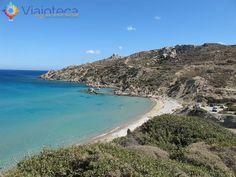 Praias em Karpathos, na Grécia Damatria