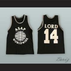 be10f8b1ef39 A AP Rocky 14 Ferg Trap Lord Worldwide Basketball Jersey