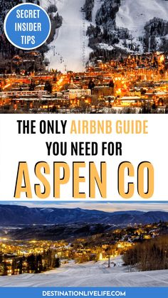 If you're planning a trip to the luxury mountain town of Aspen, Colorado be sure to consider the incredible Airbnb options. There are plenty of gorgeous Aspen Airbnbs with killer mountain vibes! Where to Stay in Aspen   Where to Stay in Aspen Colorado   Aspen Colorado Where to Stay   Where to Stay Aspen   Aspen Colorado Airbnb   Aspen Colorado Travel   Aspen Colorado Travel Guide   Aspen Vacation Rental   Aspen Winter Vacation   Aspen Summer Vacation   Colorado Airbnb   Airbnb Colorado